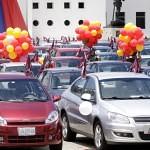 Venezuela Productiva Automotriz entrega 200 carros en Apure